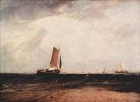 William Turner - Лов на Блайтсэнде при начавшемся приливе