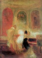 William Turner - Музицирующее общество в Петворте