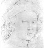Raffaello Santi - Голова мальчика