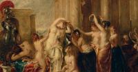 картина Венера и ее свита :: Этти Уильям