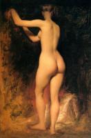Картины ню, эротика в шедеврах живописи - Обнаженная девушка