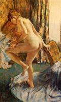 Картины ню, эротика в шедеврах живописи - После купания
