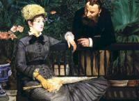 Edouard Manet (Эдуард Мане) - В оранжерее