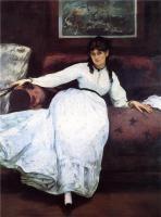 Edouard Manet - Отдых. Портрет Берты Моризо