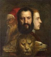 Tiziano Veccellio - «Аллегория благоразумия» (середина 1560-х)