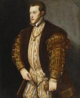 Tiziano Veccellio - Филип II Испанский