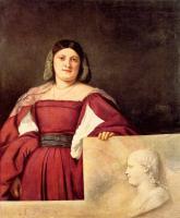 Tiziano Veccellio - Портрет женщины