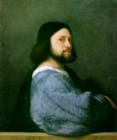 Tiziano Veccellio (Тициан) - Портрет Ариосто