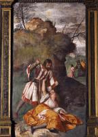 Tiziano Veccellio (Тициан) - Ревнивый муж (Чудо ревнивого мужа)
