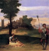 Tiziano Veccellio - Сельская идиллия