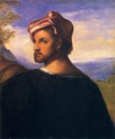 Tiziano Veccellio - Голова мужщины