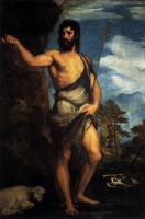 Tiziano Veccellio - Св. Иоанн Креститель в пустыне