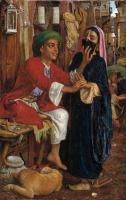 Арабский восток - Ухаживание фонарщика, уличная сцена в Каире (1854-56)