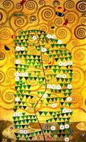 Gustav Klimt - Панно в столовой дворца Стокле