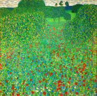 Gustav Klimt - Маковое поле