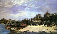 Пейзаж ( пейзажная живопись ) - Мост Искусств, Париж