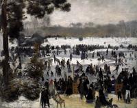 Pierre-Auguste Renoir - Катающиеся в Булонском лесу
