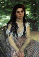 Pierre-Auguste Renoir - Лето (Девушка-цыганка)