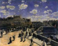 Pierre-Auguste Renoir - Новый Мост в Париже