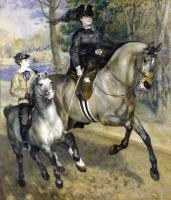 Pierre-Auguste Renoir - Прогулка в Булонском лесу