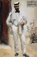 Pierre-Auguste Renoir - Портрет Шарля ле Кера