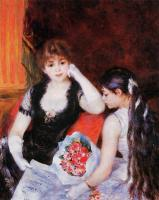 Pierre-Auguste Renoir - «Оперная ложа» (на концерте)