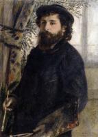 Pierre-Auguste Renoir - Клод Моне за работой