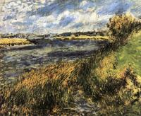Пейзаж ( пейзажная живопись ) - Берега Сены в Шампроси