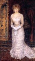 Pierre-Auguste Renoir - Портрет актрисы  Жанны Самари