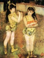Pierre-Auguste Renoir - «Акробаты цирка Фернандо»