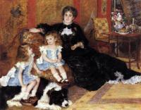 Pierre-Auguste Renoir - «Мадам Шарпантье с детьми»