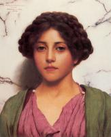Портреты - Классическая красота :: Джон Уильям Годвард