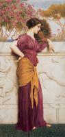 Древний Рим и Греция, Египет - Павлиний веер :: Джон Уильям Годвард