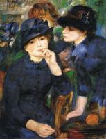 Pierre-Auguste Renoir - Две девочки