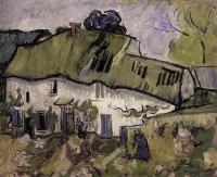 Van Gogh - Фермерский дом с двумя фигурами
