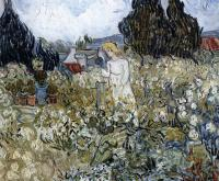 Маргарита Гаше в саду :: Винсент Ван Гог, описание картины