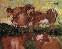 Van Gogh - «Коровы» (после Йорданса)