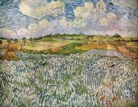 Van Gogh - Пейзаж возле Овер: пшеничные поля