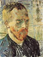 Van Gogh - Автопортрет с японским принтом