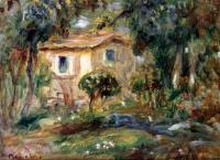 Pierre-Auguste Renoir - Пейзаж Ле Канне