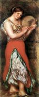 Pierre-Auguste Renoir - Танцовщица с тамбурином