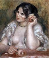 Pierre-Auguste Renoir - Габриэль с розой