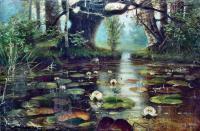Klever Yuliy - Пруд с белыми лилиями