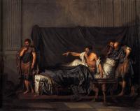 Исторические сюжеты в живописи - Жан Батист Грез «Септимий Север и Каракалла»