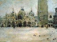 Пейзаж ( пейзажная живопись ) - Площадь Св. Марка в Венеции