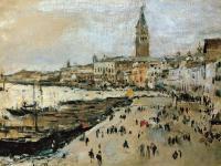 Пейзаж ( пейзажная живопись ) - Набережная Скьявони в Венеции