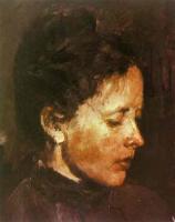 Портреты - Жена, О. Ф. Серова