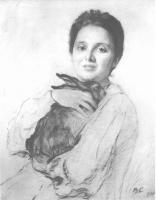 Портреты - К. А. Обнинская