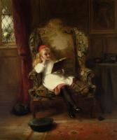Портреты - Приятное чтение (детский портрет)