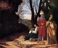 Жанровые сцены - Три философа